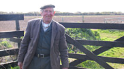 Rowland Dibble, Braunton Marsh Inspector, volunteers his time and expertise to watch over the water levels on the Marshes and adjust the sluice gates when necessary.  Courtesy of Katie James / Rowland Dibble.