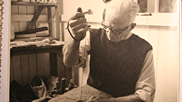 Mr Richard Braund, sewing sail