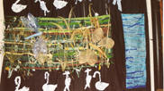 Foundation Class and Year 1 Artwork about Velator Wetlands