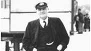 George Perryman Hartnoll, a former skipper of Eilian.  Seen here on the sea front at Teignmouth where he was Senior Trinity House Pilot, circa 1946 / 1951.   Courtesy of Peter Newcombe.